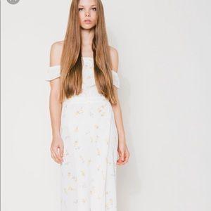 NWOT Flynn Skye Bella Maxi Dress In Summer Light